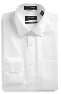 Classic Fit Dress Shirt by Nordstrom in Dr. No