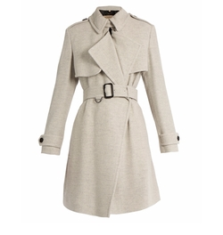 Leveson Cashmere Trench Coat by Burberry London in How To Get Away With Murder