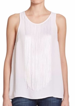 Azalea Fringe Tank Top by Karina Grimaldi in La La Land