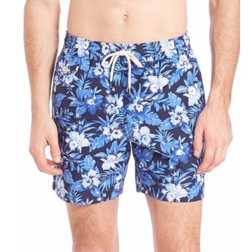 Floral Print Board Shorts by Polo Ralph Lauren in Bastards