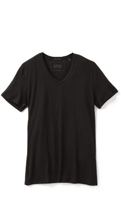 V Neck Vintage Jersey T-Shirt by ATM Anthony Thomas Melillo in The Disappearance of Eleanor Rigby