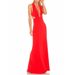 X Revolve Yani Gown by NBD in Black Panther
