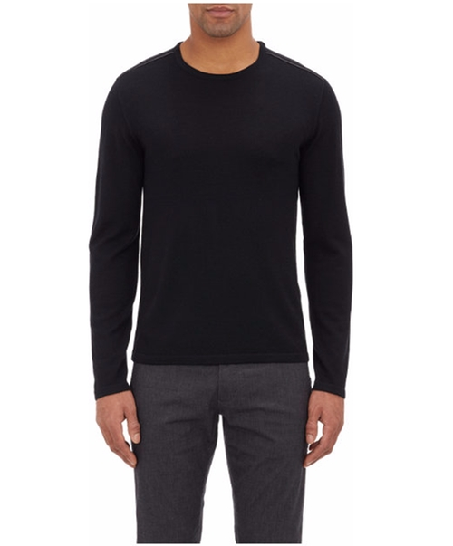 Leather Elbow-patch Sweater by John Varvatos Star U.S.A. in The Age of Adaline