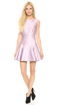 Satin Flare Dress by Giambattista Valli in The Best of Me