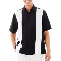 Short-Sleeve Camp Shirt by The Havanera Co. in Neighbors