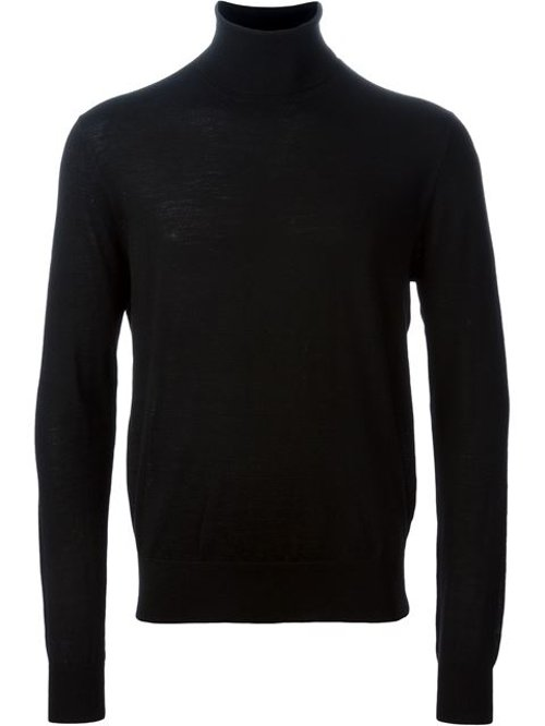 Turtle Neck Sweater by Polo Ralph Lauren in John Wick
