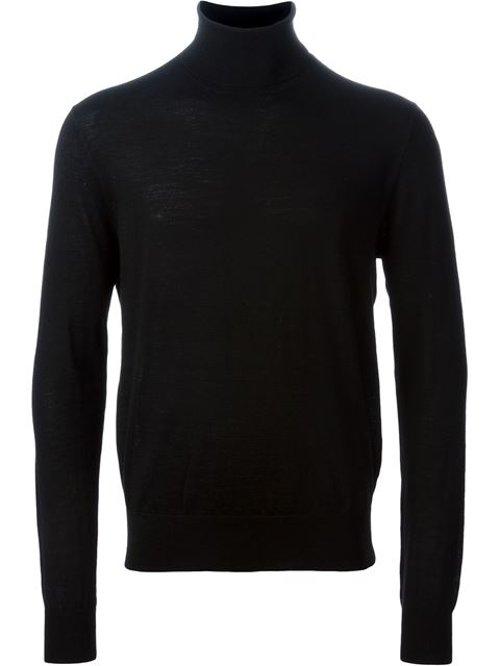 Turtle Neck Sweater by Polo Ralph Lauren in John Wick