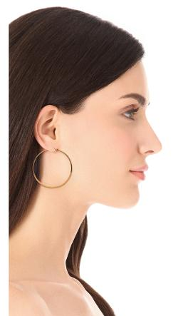 Jewelry Small Hoop Earrings by Jennifer Zeuner in Get On Up