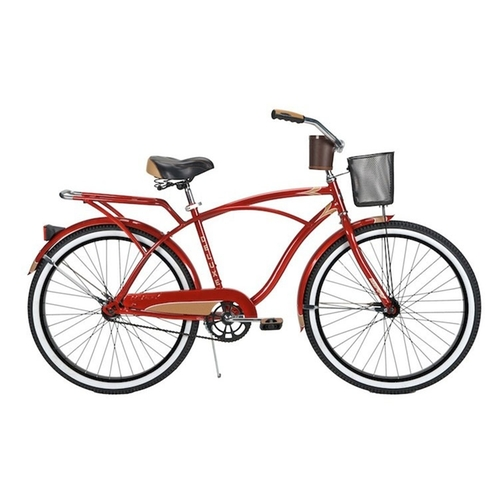 Men's Cruiser Bike with Basket by FF Design in The Hundred-Foot Journey
