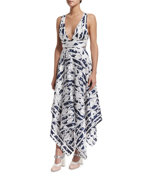 Keilani Sleeveless Striped Midi Dress by Alexis in Mistresses - Season 4 Preview