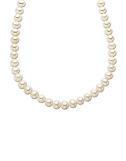 Freshwater Pearl Strand Necklace by Lord & Taylor in A Walk in the Woods