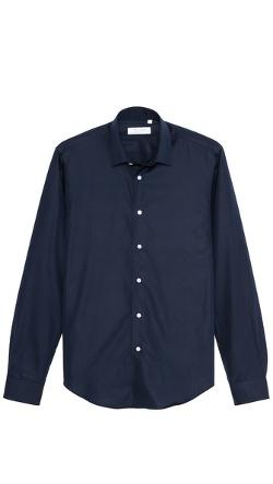 Square Collar Oxford Shirt by Mr. Start in Pain & Gain