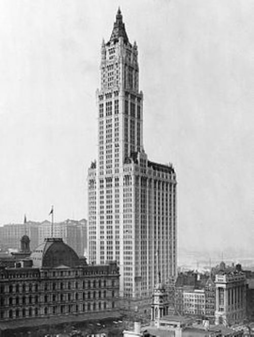 Woolworth Building New York City, New York in The Walk