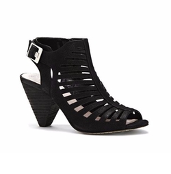 Eliana Cutout Cone Heel Sandals by Vince Camuto in Fuller House