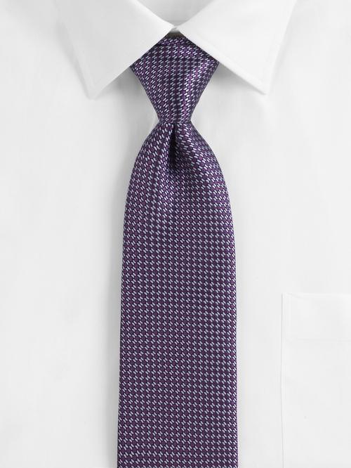 Purple Circle Neat Silk Tie by Ermenegildo Zegna in Empire - Season 2 Episode 1