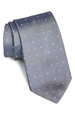 Square Dot Silk Tie by Boss in Brooklyn Nine-Nine