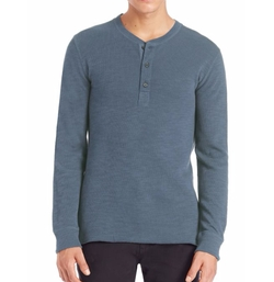 Sanders Henley Shirt by Billy Reid in Quantico