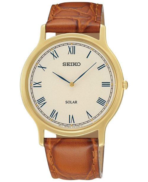 Solar Leather Watch by Seiko in Entourage