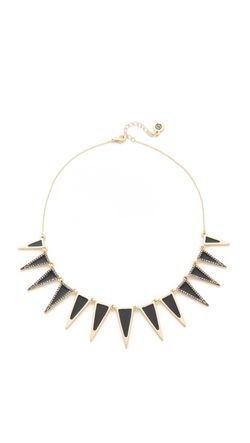 Enameled Echelon Collar Necklace by House of Harlow 1960 in Jem and the Holograms