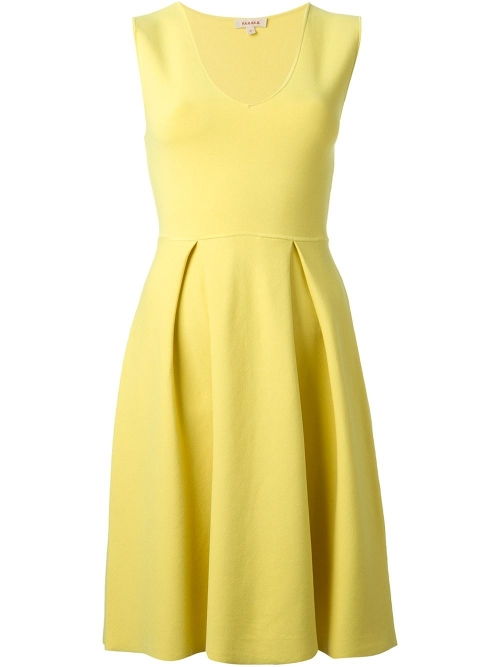Flared Sleeveless Dress by P.A.R.O.S.H. in Ted 2