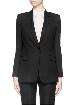 Wool Piqué Blazer by Helmut Lang in Jessica Jones