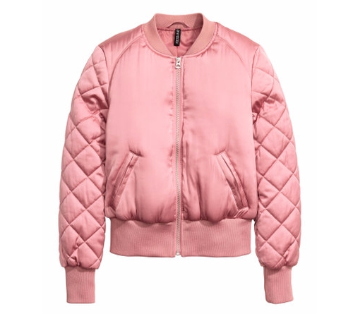 Bomber Jacket  by H&M in Scream Queens