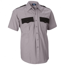 2-Tone Uniform Shirt Short Sleeve by Intapol in Masterminds
