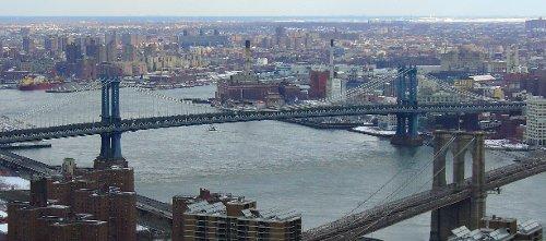 Manhattan Bridge New York City, New York in John Wick
