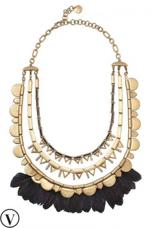 Plume Necklace by Stella & Dot in Pretty Little Liars - Season 6 Episode 15
