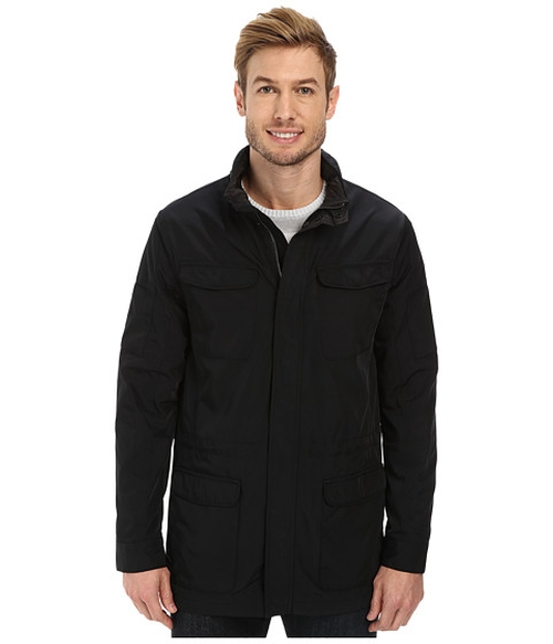 Nylon Fabric Four-Pocket Jacket by Calvin Klein in The Fundamentals of Caring