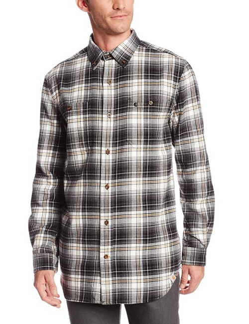 Men's Trumbull Plaid Shirt by Carhartt in Get Hard