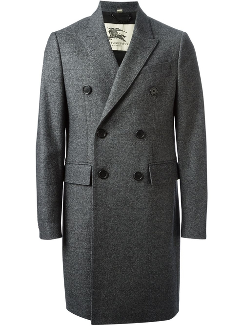 Double Breasted Coat by Burberry in A Most Violent Year