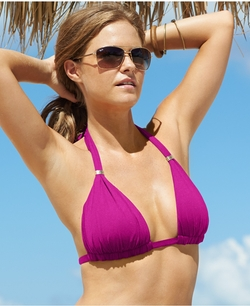 Triangle Halter Bikini Top by Ralph Lauren in Spring Breakers
