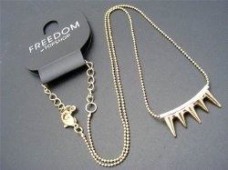 Spike Pendant And Chain Necklace by Freedom at Topshop in Furious 7