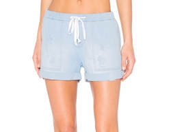 Easy Pocket Shorts by Bella Dahl in The Incredible Jessica James