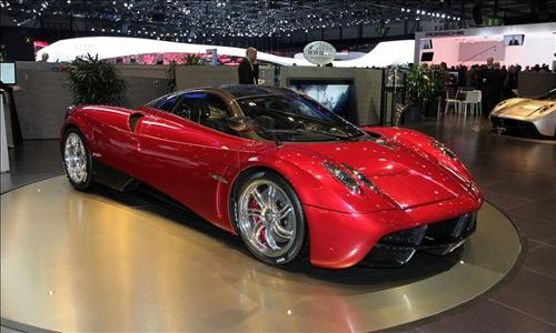 Huayra by Pagani in Transformers: Age of Extinction