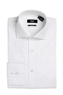 'Gerald' Regular Fit Cotton Dress Shirt by Boss in Masterminds