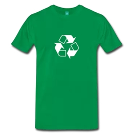 Recycle Symbol T-Shirt by Spreadshirt in The Big Bang Theory