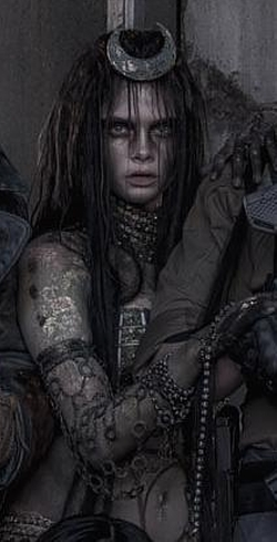 Custom Made Enchantress Costume by Kate Hawley (Costume Designer) in Suicide Squad