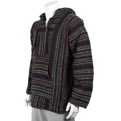 Multicolored Baka hoodie by Baja hoodie in The Secret Life of Walter Mitty