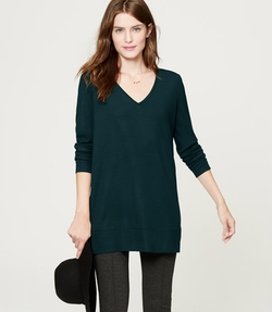 Drapey Ponte Tunic Top by Loft in Jessica Jones