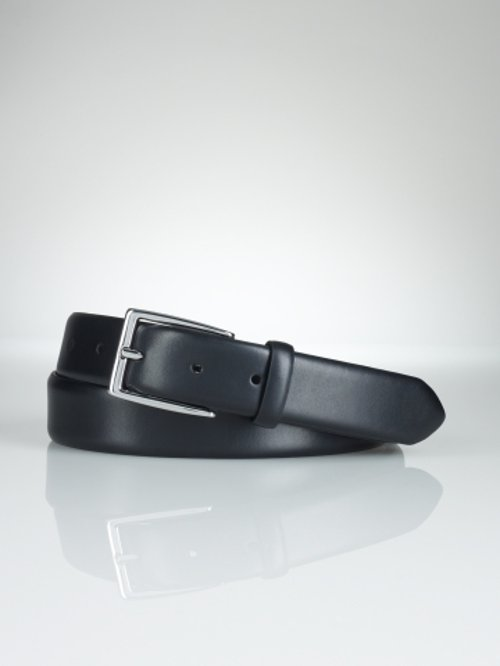 Douglas Calfskin Buckle Belt by Ralph Lauren in Taken 3