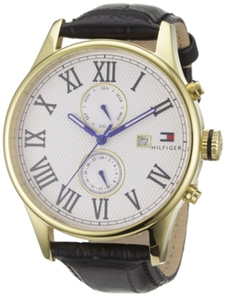 Classic Multifunction Men's Watch by Tommy Hilfiger in Billions