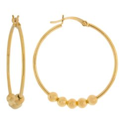 Beaded Hoop Earrings by JCPenney in Pitch Perfect 2
