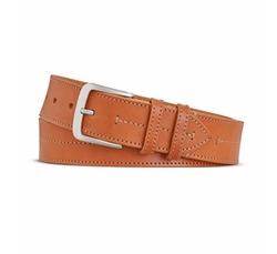 Bridle Center Stitch Leather Belt by Shinola in Jane the Virgin