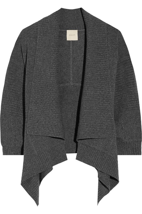 Wool And Cashmere-blend Cardigan by Mason By Michelle Mason in Spy