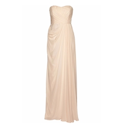 Draped Silk Gown by Badgley Mischka in Fuller House