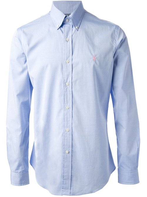 Classic Button Down Shirt by Polo Ralph Lauren in Nightcrawler