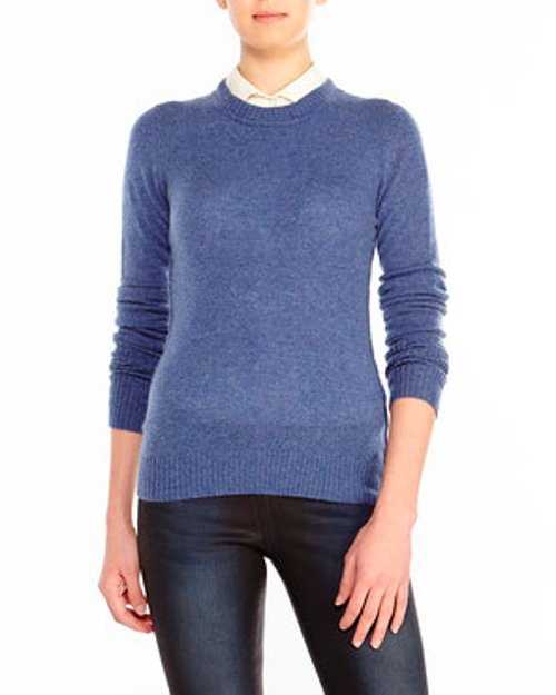 Cashmere Crew Neck Sweater by Inhabit in If I Stay