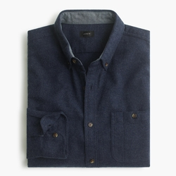 Slim Cotton-Wool Elbow-Patch Shirt by J.Crew in Master of None